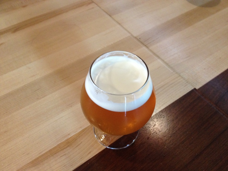 Workshop Brewing Company; Traverse City, Mich. A Tripel IPA that will live on in history.